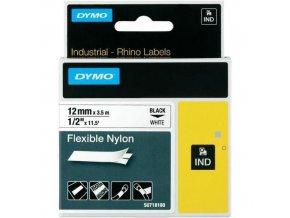 Páska D1 nylonová, šířka 12 mm