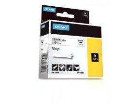 Páska D1 vinylová, šířka 12 mm