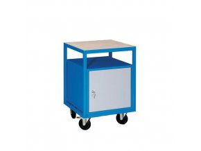 Mobilní svařovaný dílenský stůl Rivt, 85 x 57,2 x 59,2 cm