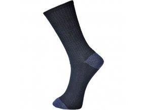 Bavlněné ponožky Classic, černá, vel. 44-48