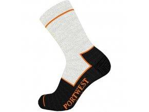 Ponožky Cut Resistant, černá, vel. 44-48