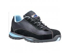 Steelite dámské Safety Trainer S1P HRO, černá;modrá, vel. 42