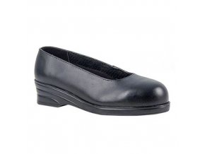 Obuv Steelite Ladies Court S1, černá, vel. 40