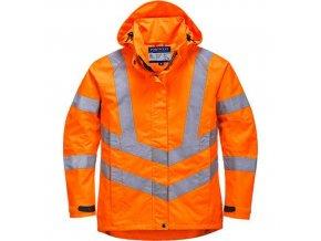 Dámská prodyšná HiVis bunda, oranžová, vel. XXL
