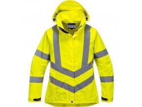 Dámská prodyšná HiVis bunda, žlutá, vel. XXXL