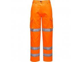 Dámské kalhoty HiVis, oranžová, vel. XXL