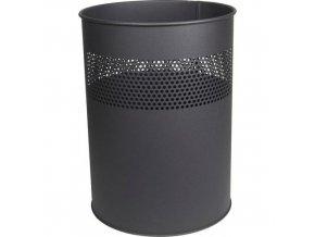 Kovový odpadkový koš Streak, objem 30 l
