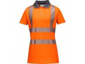 Dámská polokošile Pro, oranžová, vel. XL