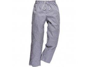 Kalhoty Bromley Chefs, bílá/šedá, normální, vel. XXXL