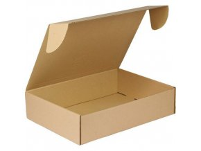 Kartonová krabice s víkem, 105 x 445 x 315 mm