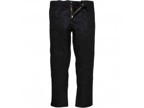 Kalhoty Bizweld, černá, prodloužené, vel. M