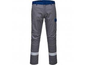 32/5000 Kalhoty Bizflame Ultra, šedá, normální, vel. UK40 EU56  F