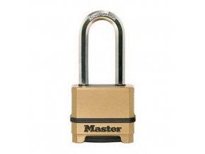 Kombinační visací zámek Master Lock Excell 56mm výška třmenu 51mm
