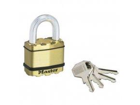 Mosazný visací zámek Master Lock Excell 50mm výška třmenu 25mm