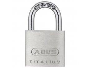 Hliníkový visací zámek Titalium, průměr třmene 5,5 mm, výška 20 mm