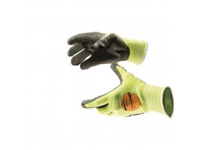 Polyetylenové rukavice Ansell HyFlex® 11-423 polomáčené v polyuretanu, vel. 10