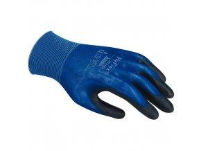 Nylonové rukavice Ansell HyFlex® 11-618 polomáčené v polyuretanu, vel. 9