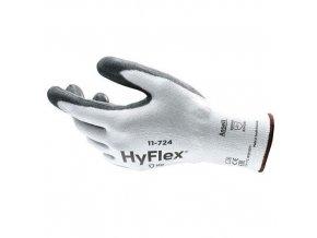 Pracovní rukavice Ansell HyFlex® 11-724 polomáčené v polyuretanu, vel. 10
