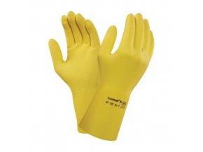 Latexové rukavice Ansell AlphaTec® 87-190, vel. 7