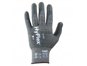 Pracovní rukavice Ansell HyFlex® 11-531 polomáčené v nitrilu, 1 pár, vel. 9