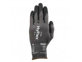 Nylonové rukavice Ansell HyFlex® 11-840 polomáčené v nitrilu, 1 pár, vel. 9