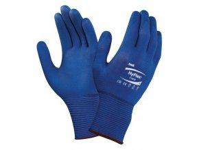 Nylonové rukavice Ansell HyFlex® 11-818 polomáčené v nitrilu, 12 párů, vel. 7