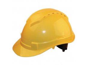 Ochranná přilba Manutan Classic, 6bodová, žlutá