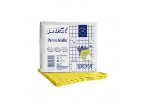 Úklidová utěrka TEMCA Profix 32 x 36 cm skládaná verze, žlutá, 32ks
