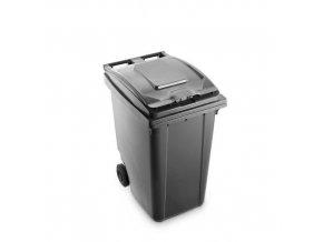 Plastová popelnice Benny na tříděný odpad, objem 360 l, šedá