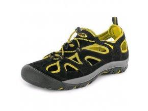 Obuv sandál CXS GOBI, černo-žlutá, vel. 42