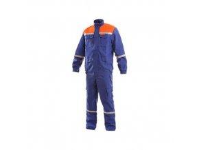 Oděv CXS ENERGETIK MULTI 9043 II, modro-oranžový, vel. 62
