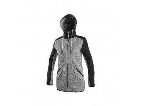 Bunda CXS CAPE, dámská, šedo-černá, vel. XL