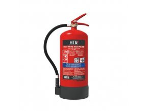 Pěnový hasicí přístroj PE6, 6 l (21A, 183B), PL etiketa