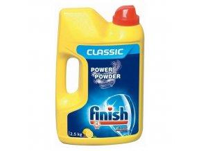 Prášek do myčky Finish Classic Lemon, 2,5 kg, 6 ks