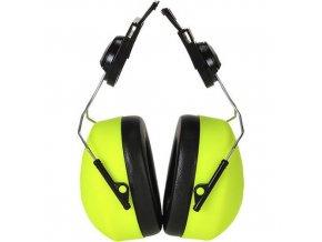 Chrániče sluchu Clip-on HV, žlutá
