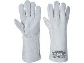 Rukavice Classic Welding, šedá, vel. XL