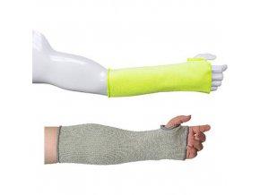 Neprořezné rukávníky 35cm, žlutá