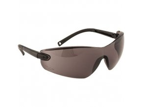Profilované ochranné brýle, kouřová