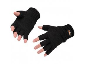 Bezprsté rukavice Insulatex, černá