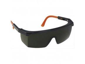 Brýle Welding Safety, zelená