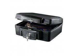 Bezpečnostní kufr Master Lock odolný ohni a vodě