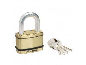 Mosazný visací zámek Master Lock Excell 64mm