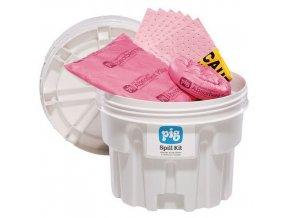Havarijní souprava Pig, chemická, sorpční kapacita 41,5 l
