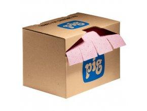 Sorpční koberec MD+ v kartonové krabici Pig, chemický, sorpční kapacita 29,7 l