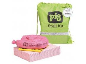 Havarijní souprava Pig, chemická, sorpční kapacita 11 l
