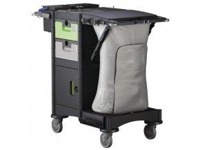 Úklidový hotelový vozík Manutan Brix PT