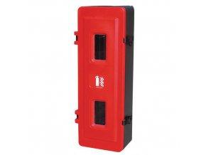 Plastová skříňka na hasicí přístroj, 9 kg