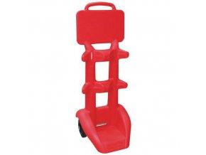Pojízdný držák na hasicí přístroj, 30 kg