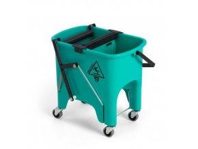 Úklidový kbelík na kolečkách se ždímačem TTS, objem 15 l