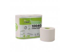 Toaletní papír Celtex BIO E-Tissue 2vrstvy 400útržků, 4ks